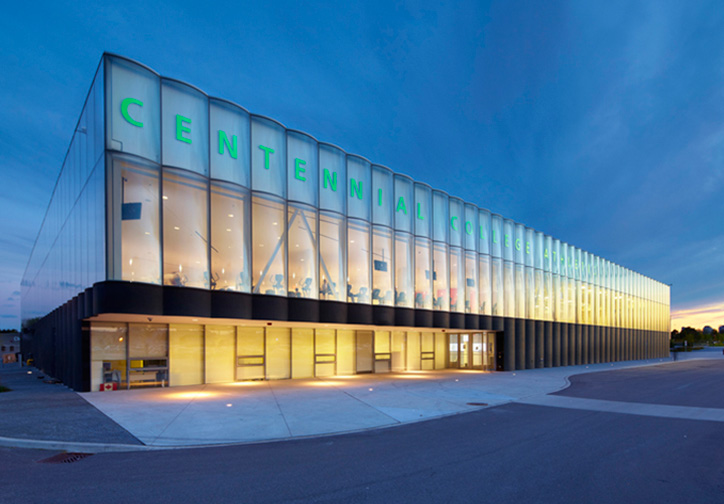 Centennial College Athletic Amp Wellness Centre 171 Dms