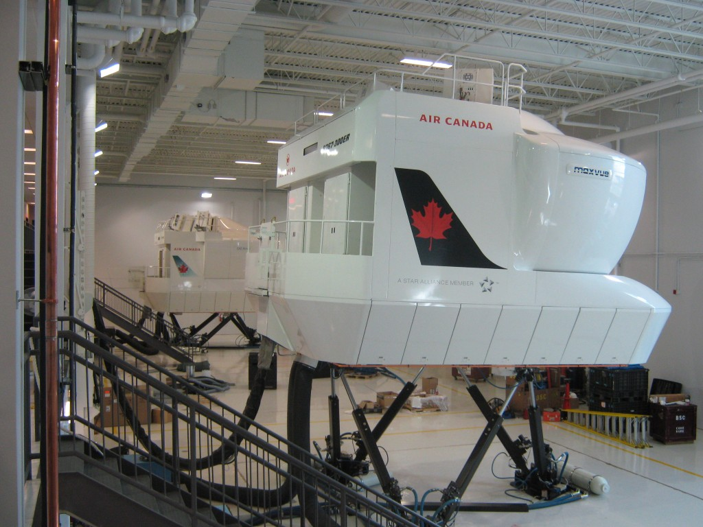 Air Canada New Flight Training Facility 171 Dms